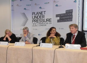 Planet Under Pressure panel of scientists